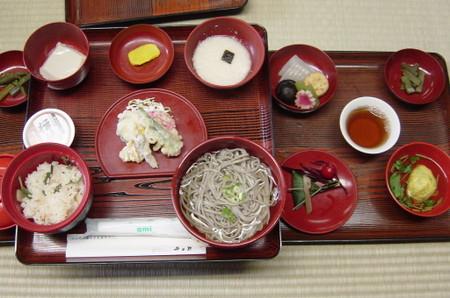 途中昼食(精進料理)