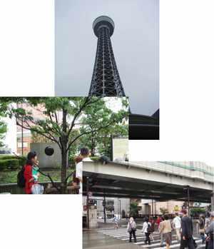 マリンタワー~ヘボン邸跡~谷戸橋 (雨が少し・・・パラパラ)