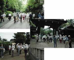總持寺に眠る人々:フィールドワーク(總持寺の墓地散策)