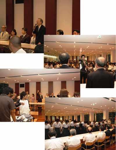 第41回全日本歯科学生総合体育大会 結団式&壮行会