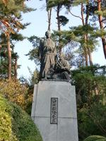 松陰誕生地(銅像)
