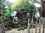 『洲崎神社』の狛犬
