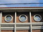 校舎のステンドグラス