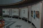 鶴見大学美術部 2009年新人展の様子01