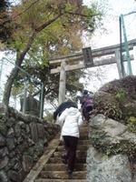 白髭神社(鶴見大学生涯学習セミナー【平成22年度第1クール】B-19 日帰り美術観照スタディ・ツアー 神奈川の仏像IV ~伊勢原に仏像を訪ねて~)