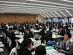 学内合同企業説明会(平成23年2月16・17日:鶴見大学 就職課)