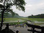 駒形根神社中腹から見る風景【鶴見大学生涯学習セミナー 平成22年度第1クール B-17文化財スタディ・ツアー(9)懸想の地・奥州へ】