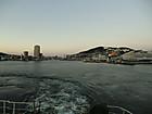 フェリーで福江港へ
